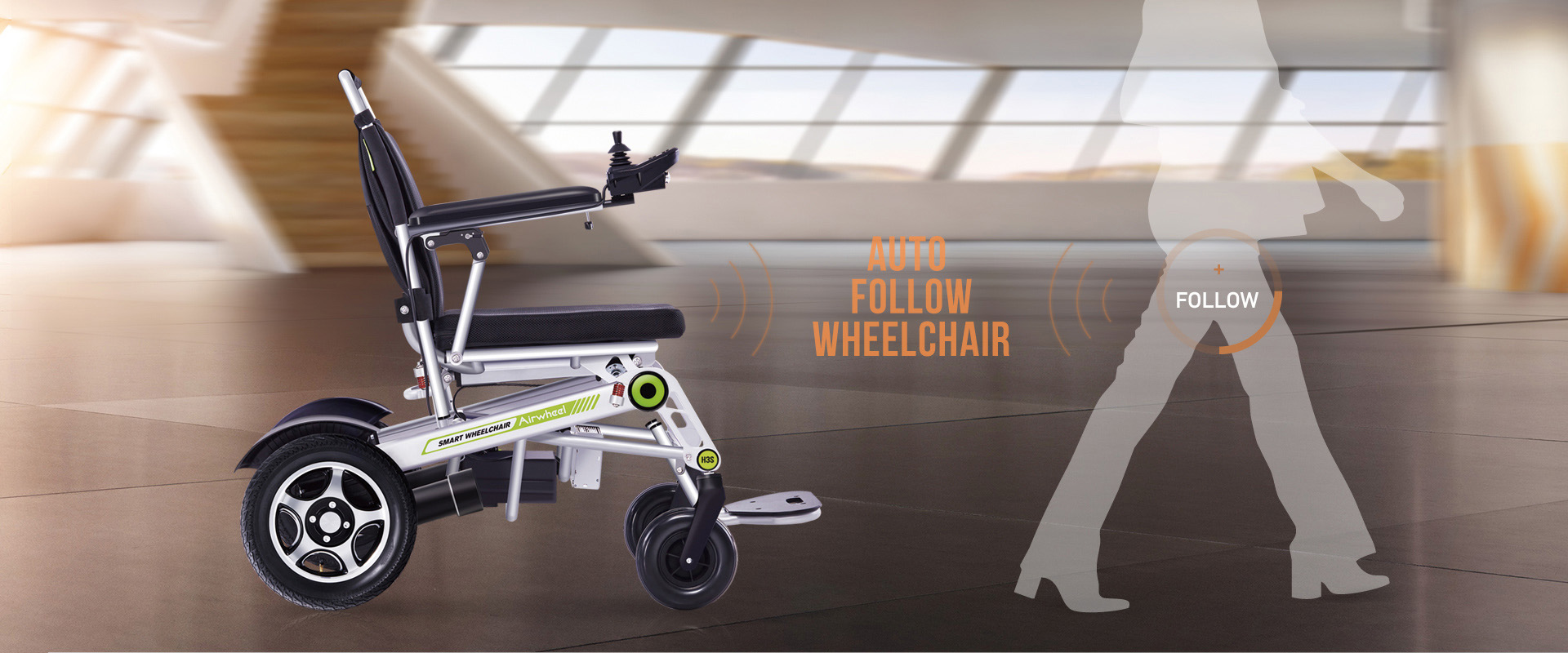 Airwheel H3s Auto Follow wheelchair