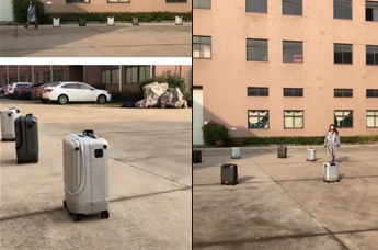 Airwheel SR5 Smart suitcase