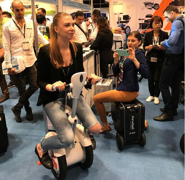 Airwheel smart electric scooter