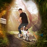 Airwheel R6 tour electric bike