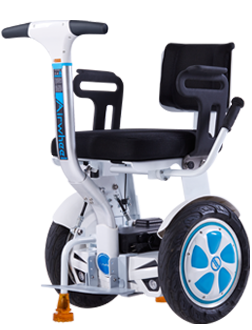 Airwheel A6TS is a personal transport to help those people who have walking issues to go out easily.