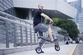 Airwheel e6 black electric bicycle